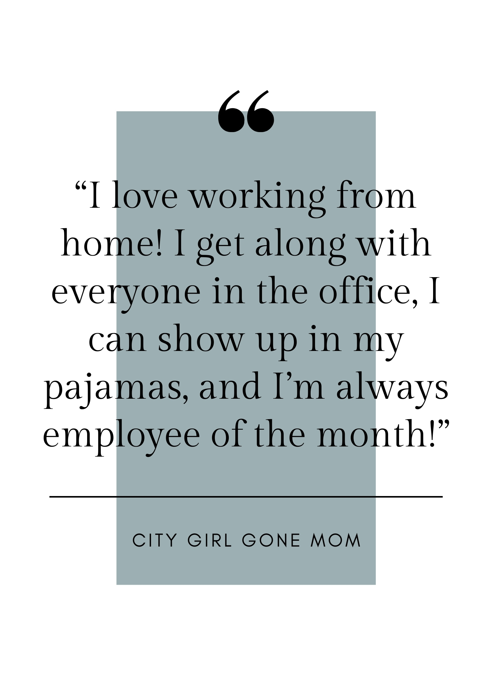 funny work from home quote