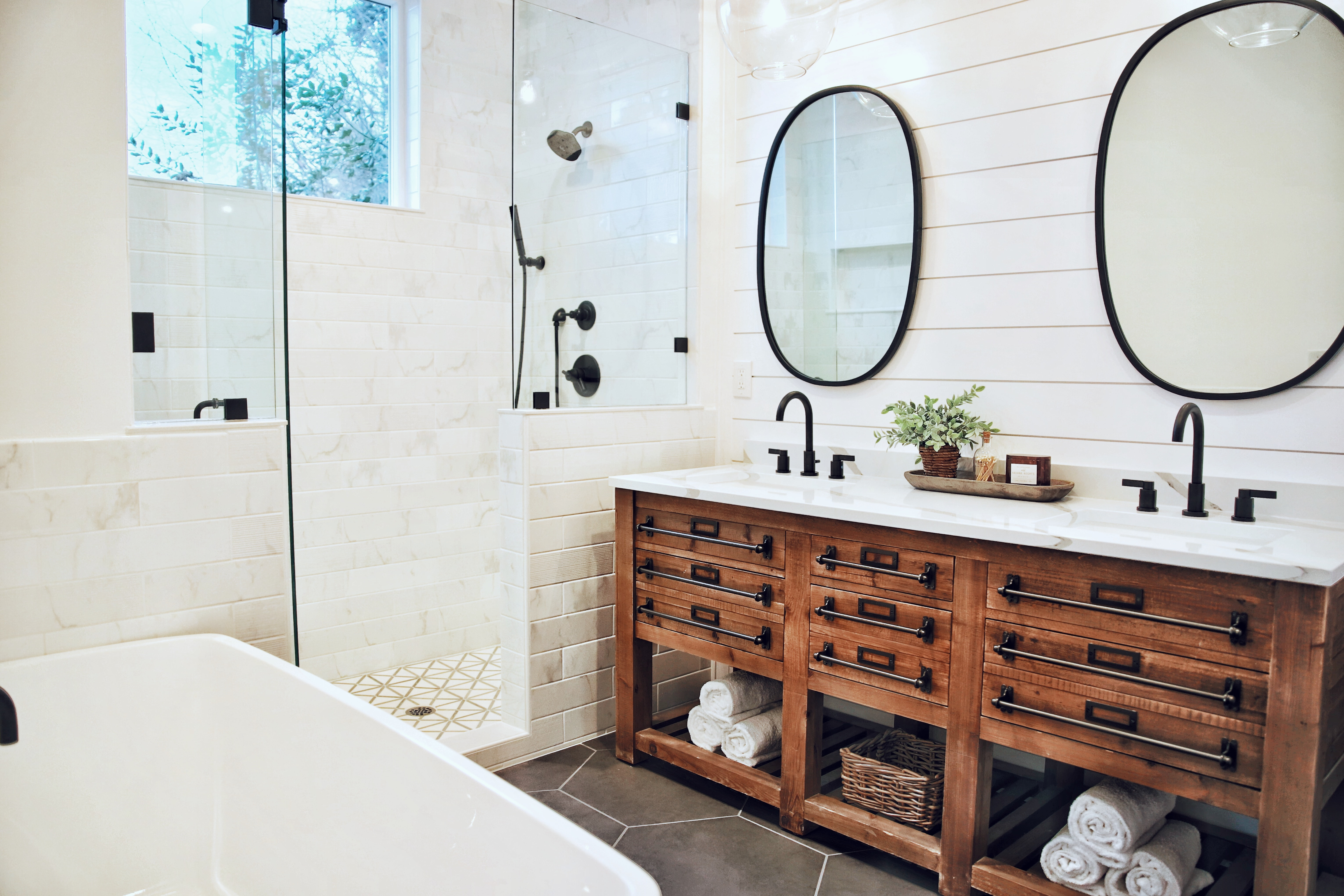 9 Farmhouse Bathrooms We Re Obsessed With City Girl Gone Mom