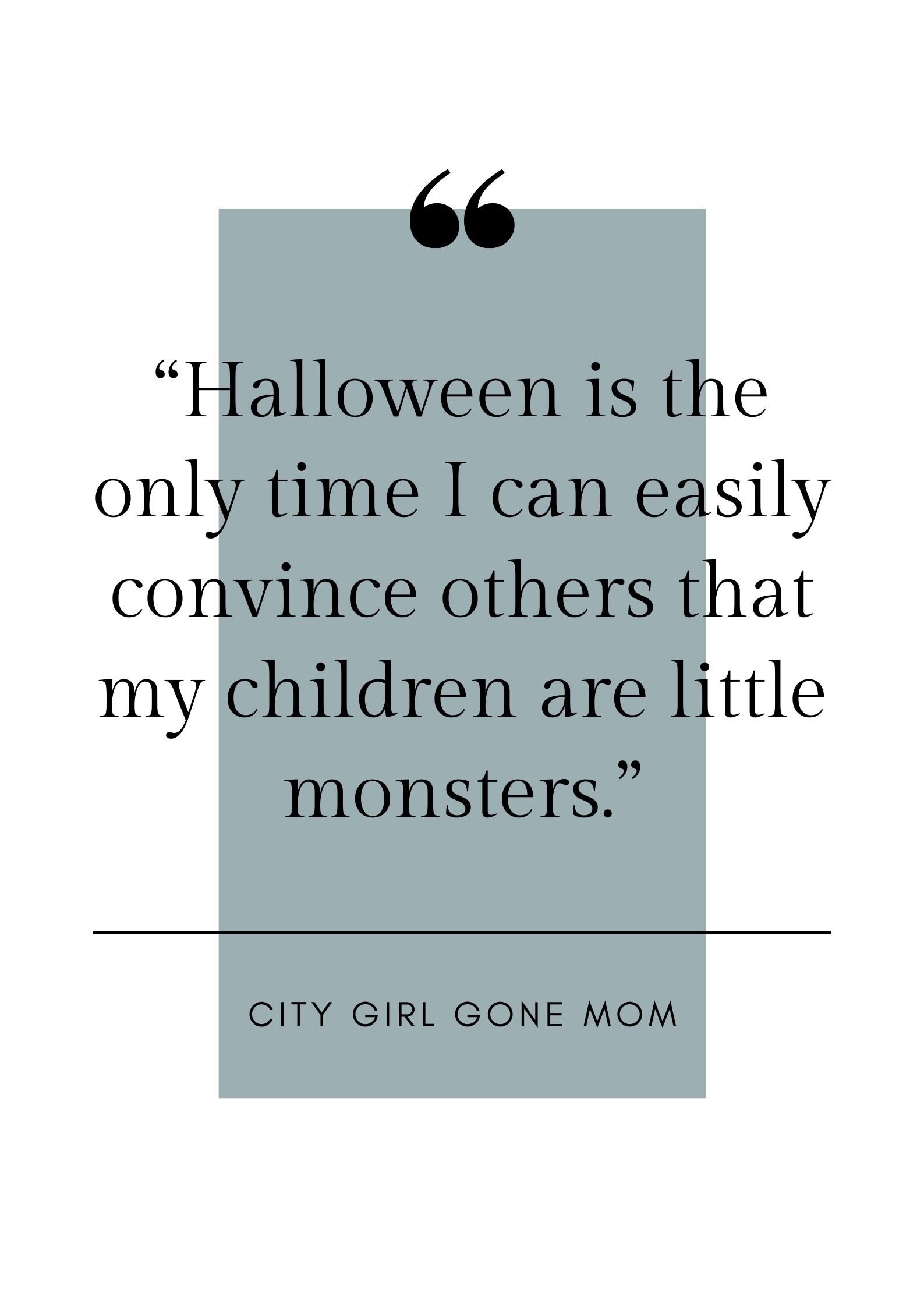 funny halloween mom quote