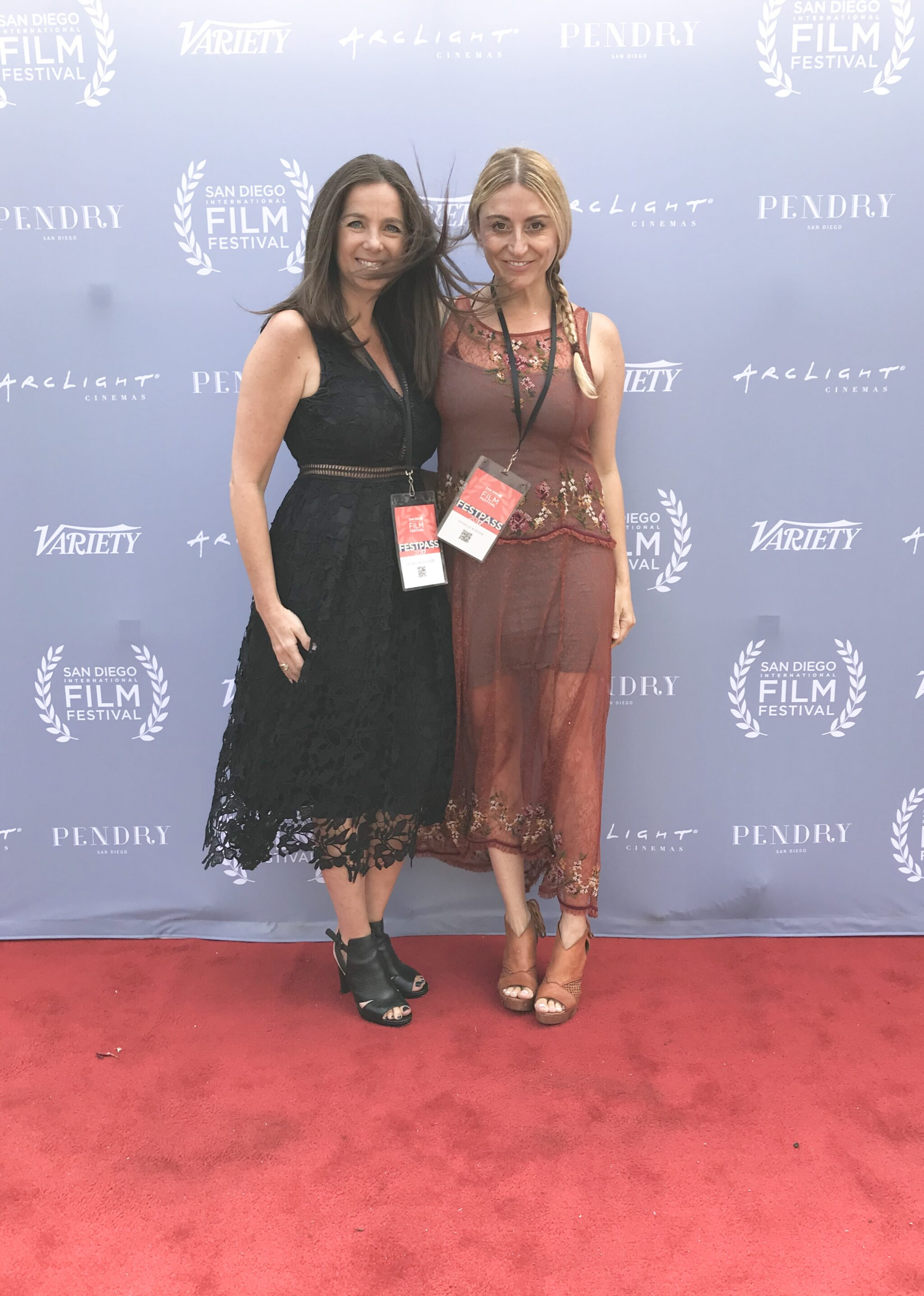 women on the red carpet