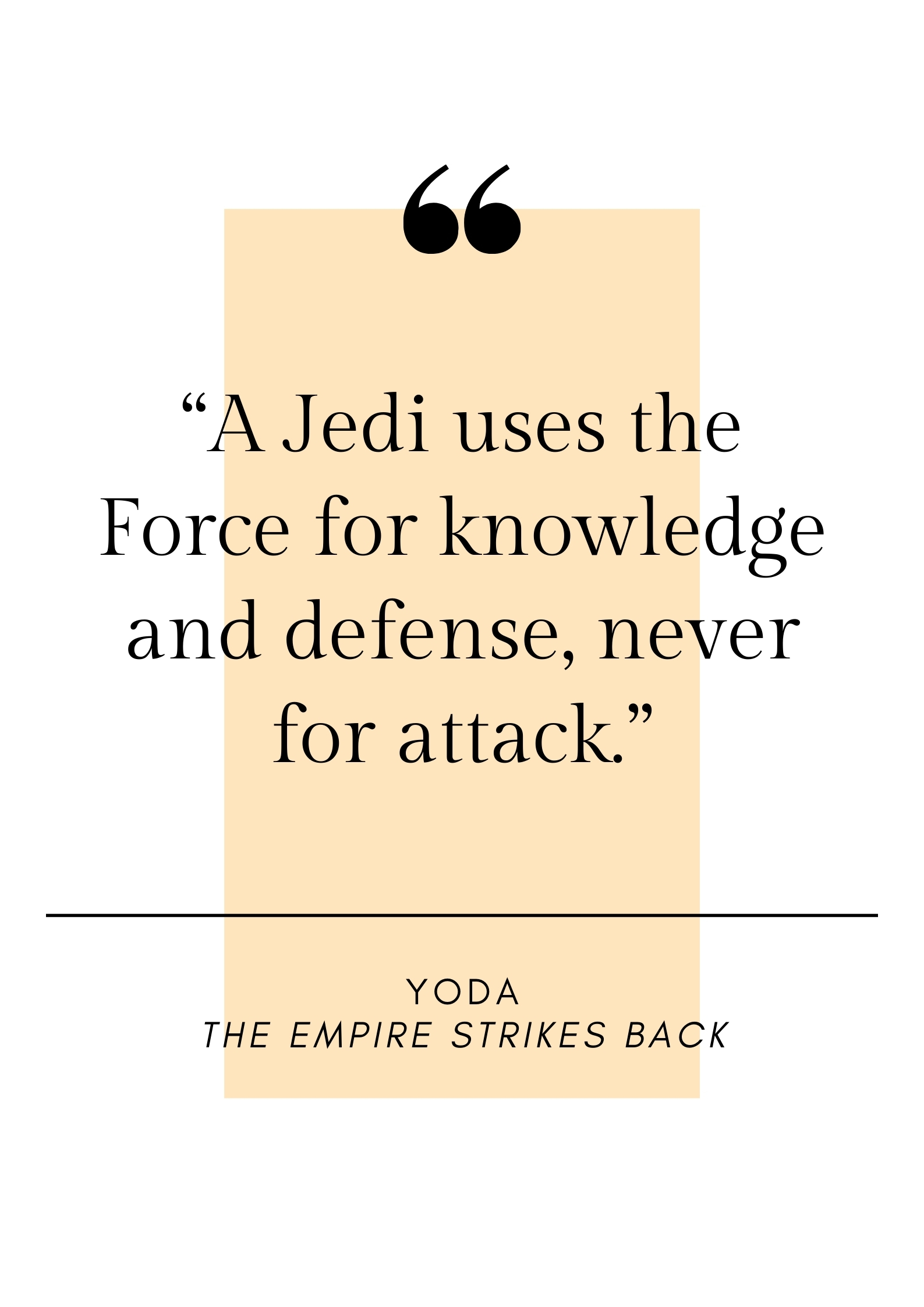 yoda quote from star wars