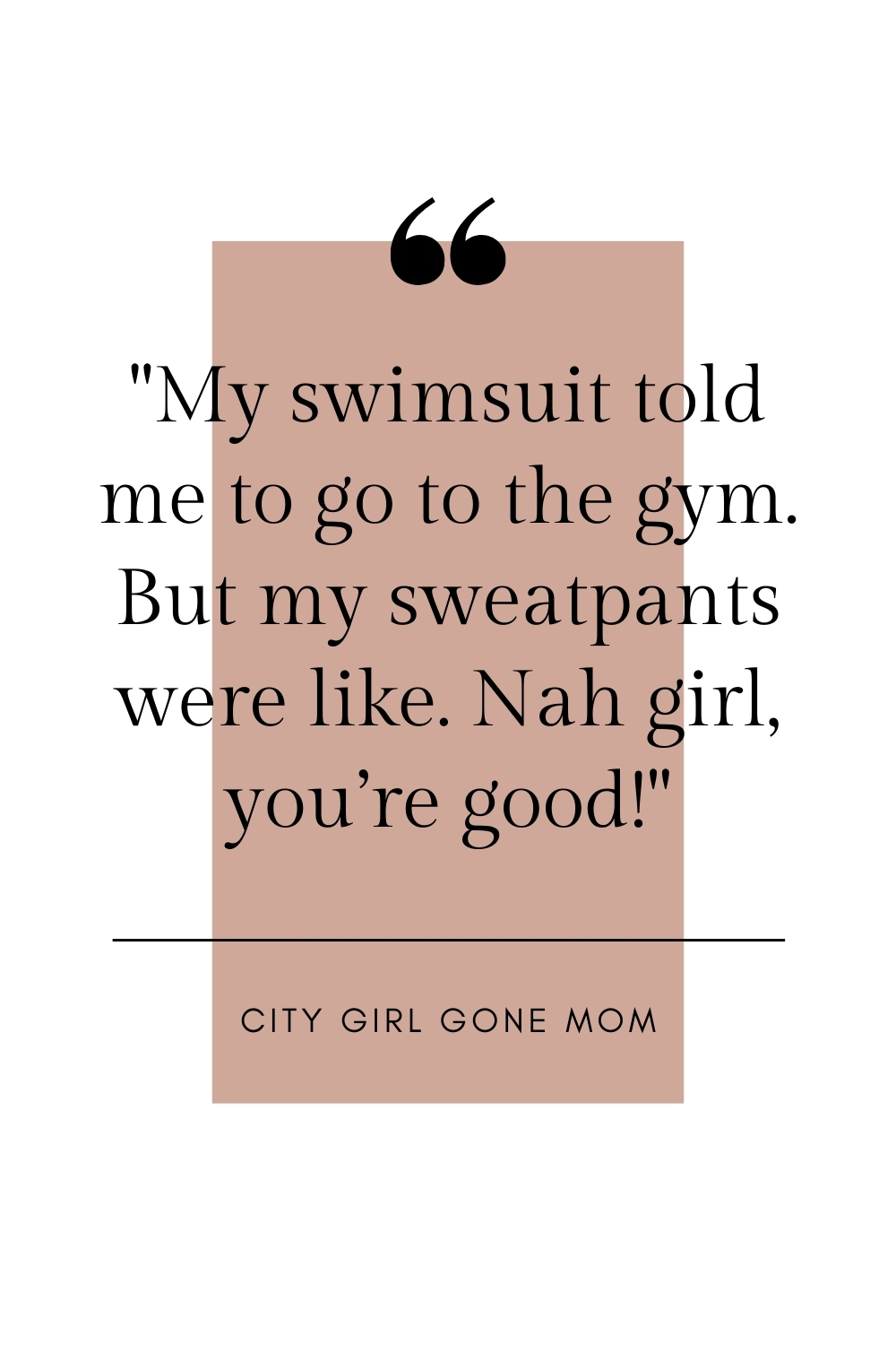 funny swimwear quote