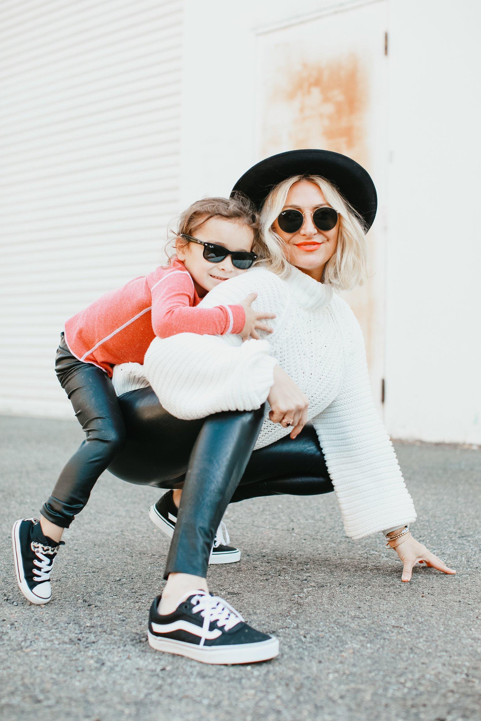 fashion mom and kid
