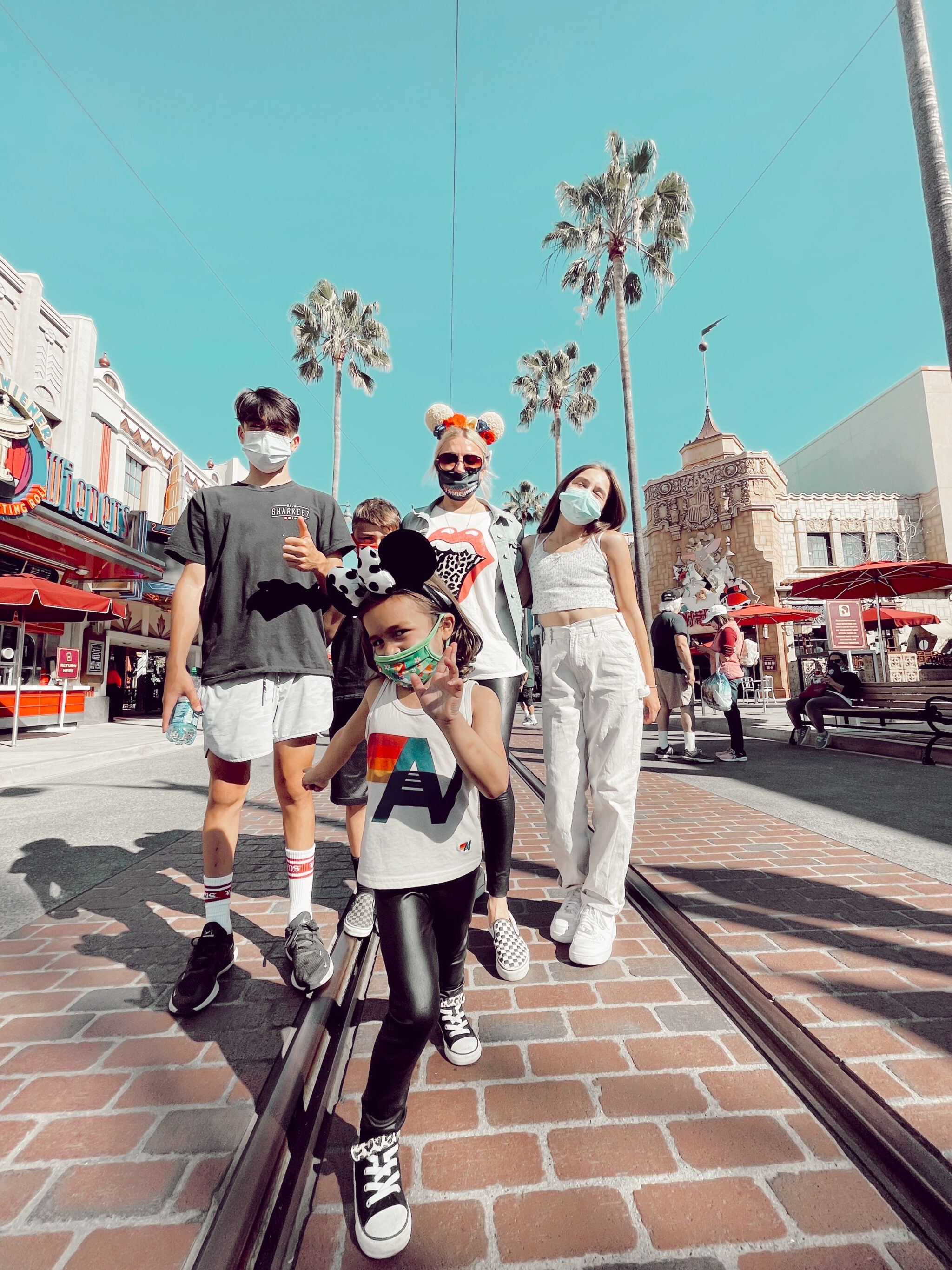 family at disney california adventure