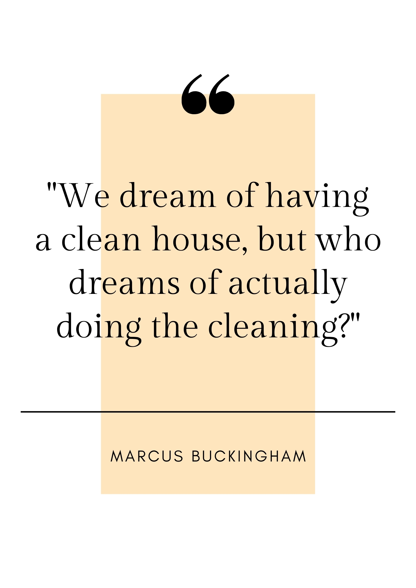 funny cleaning quote