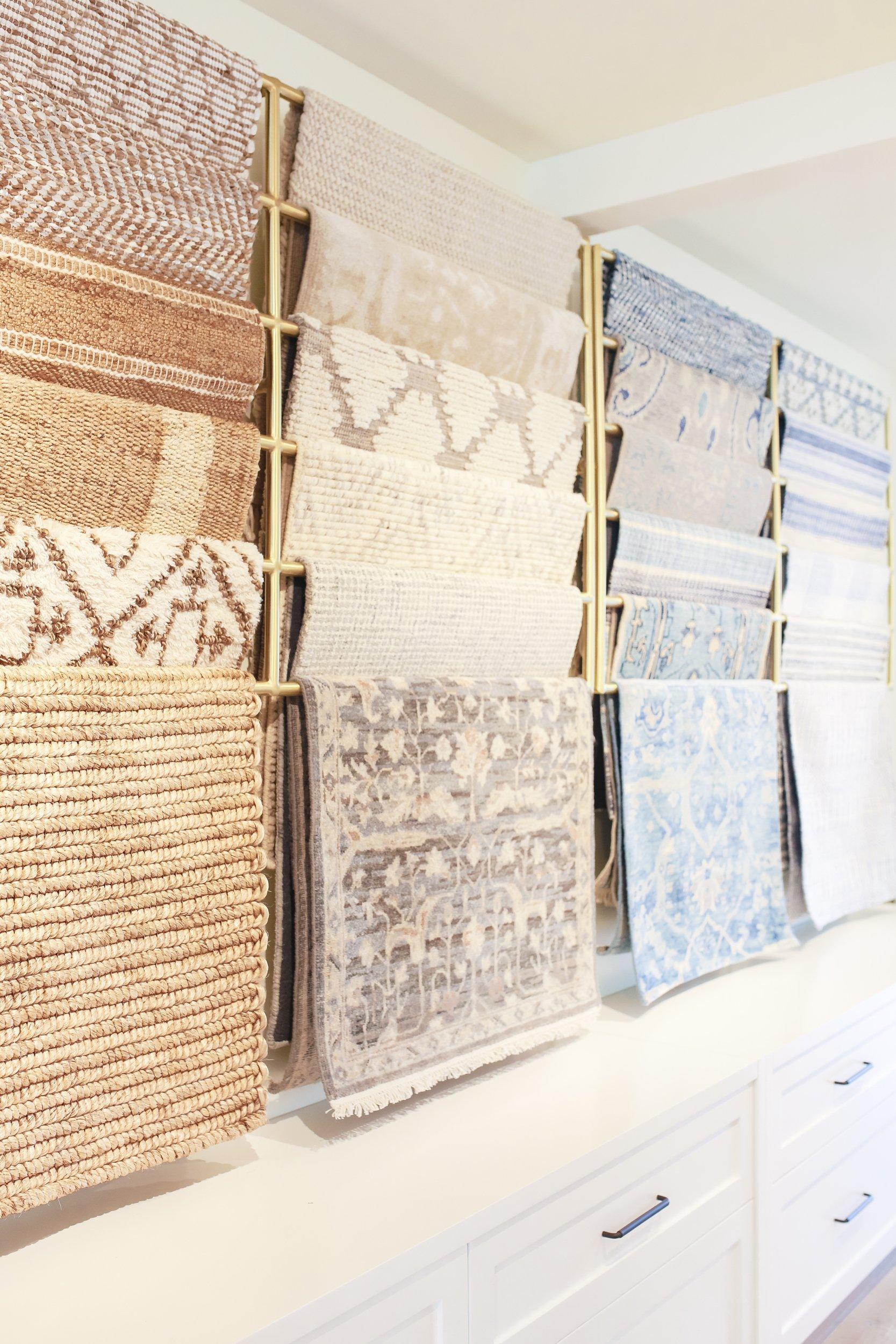 rugs on display