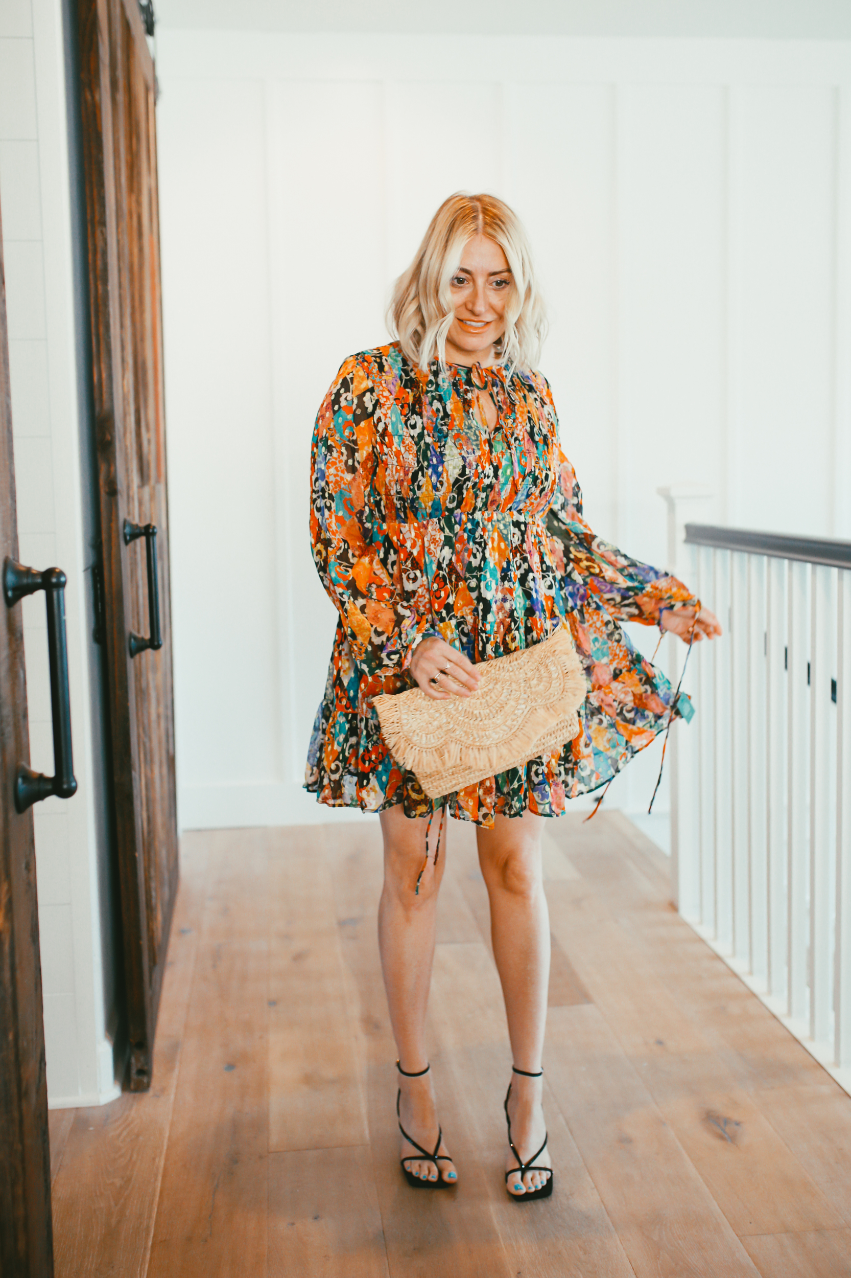 woman in summer style
