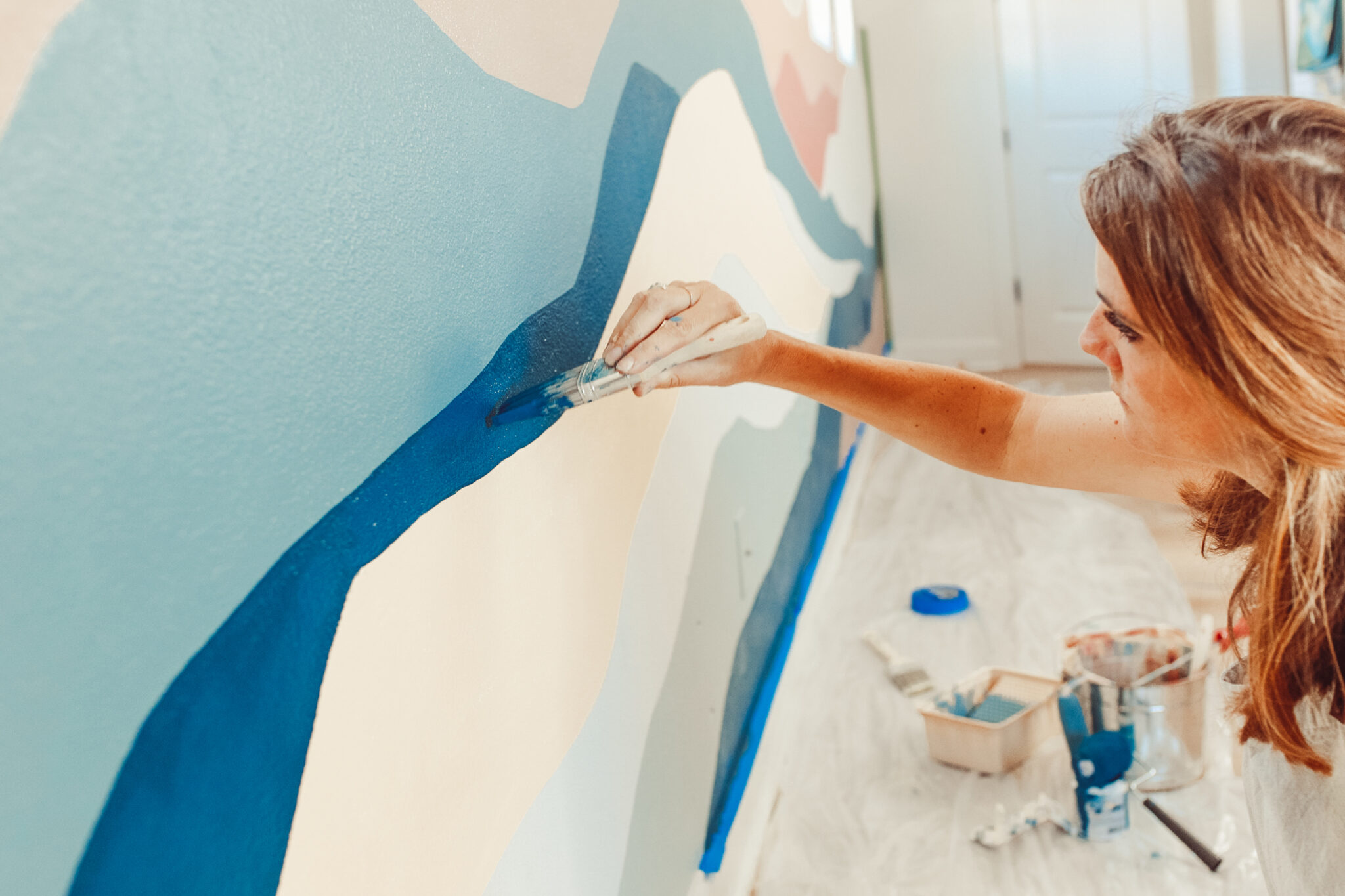 painting bedroom wall