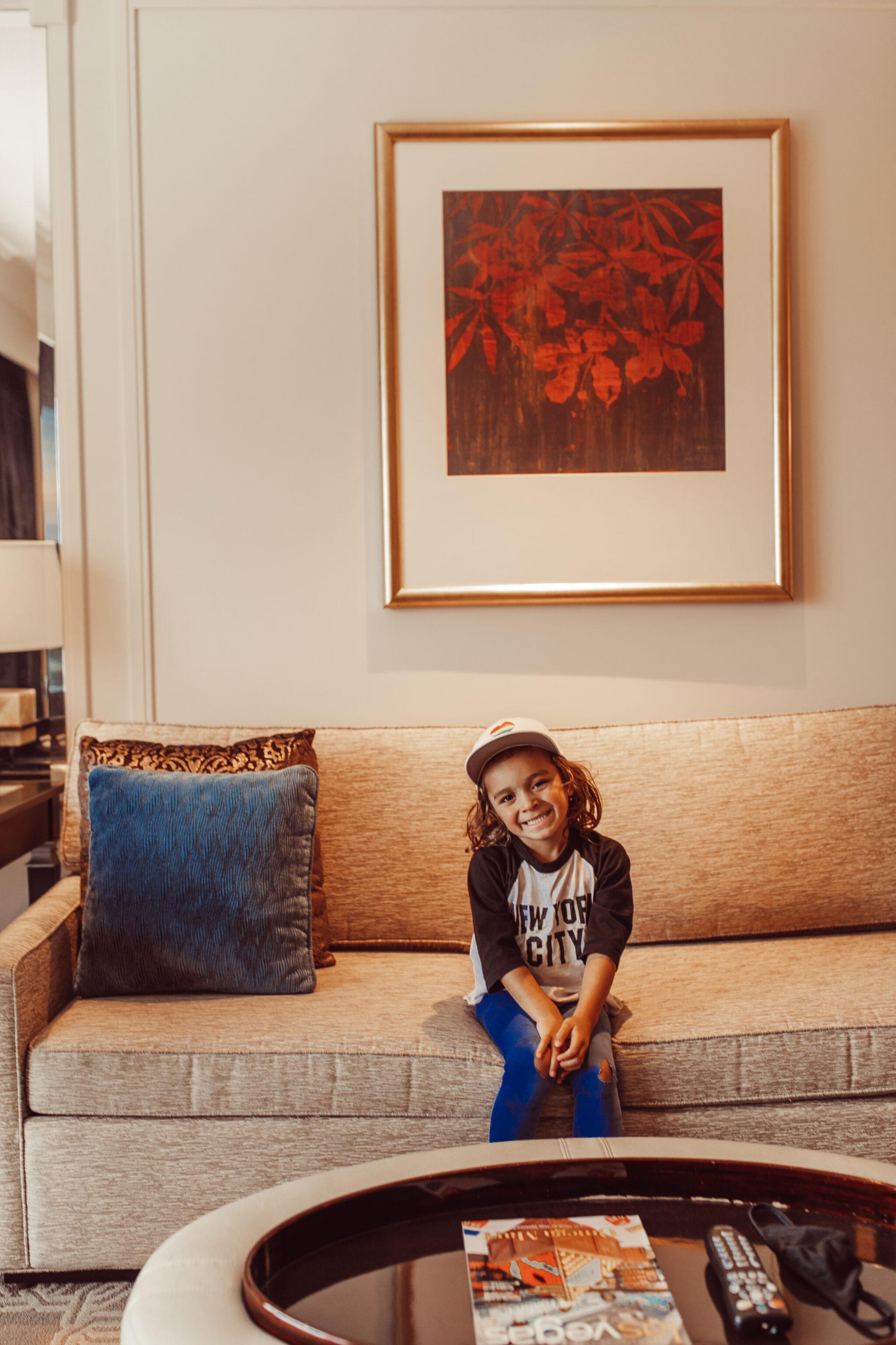 boy sitting on couch