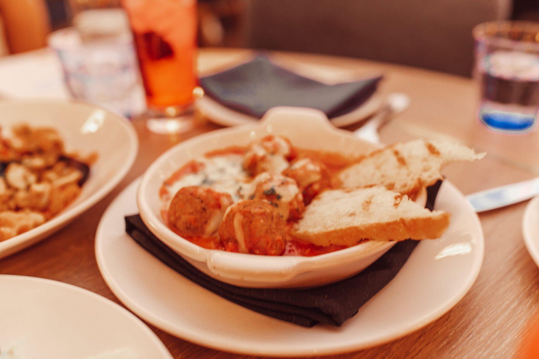 meatball restaurant dish