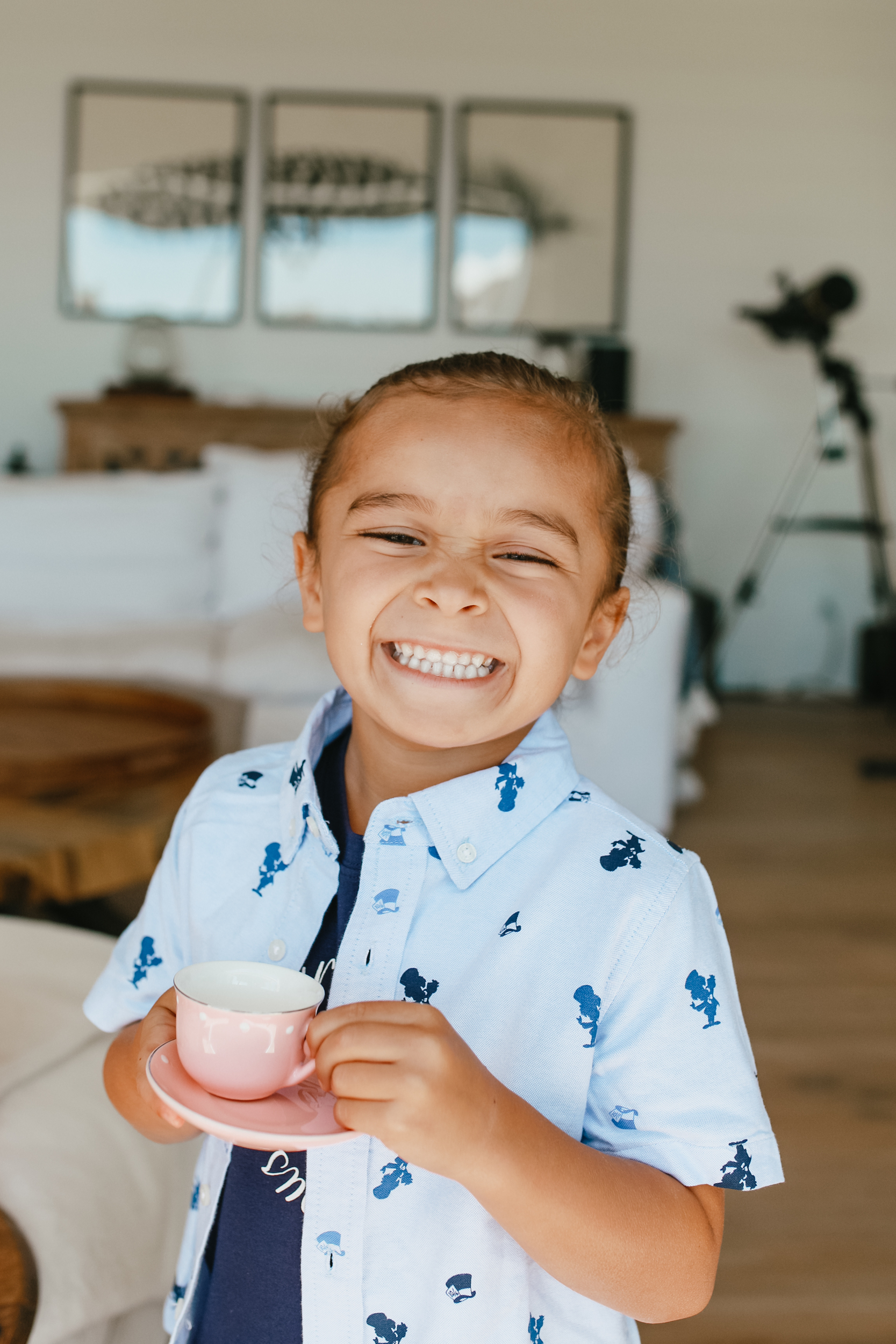 grinning little boy