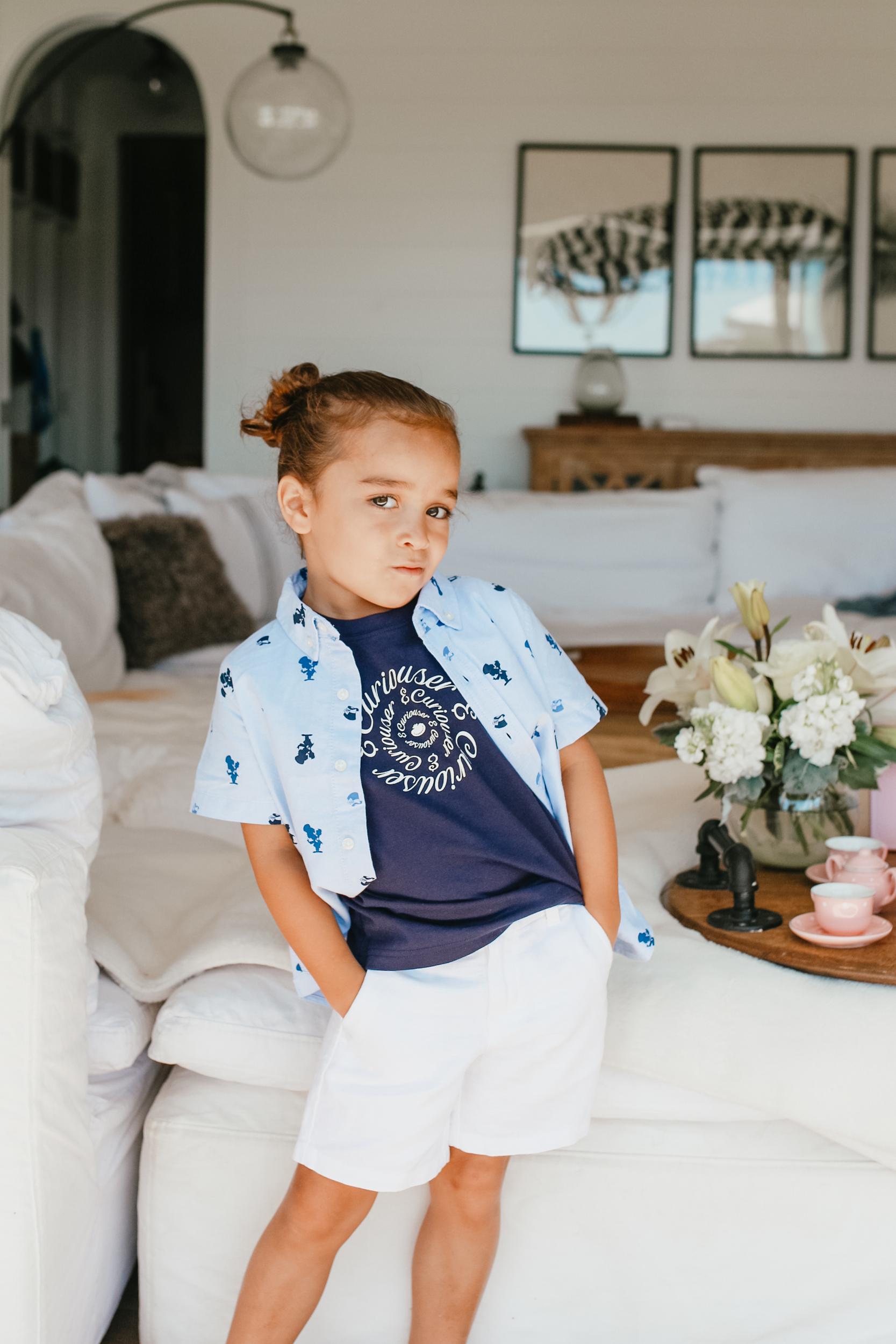 boy posing in fashion