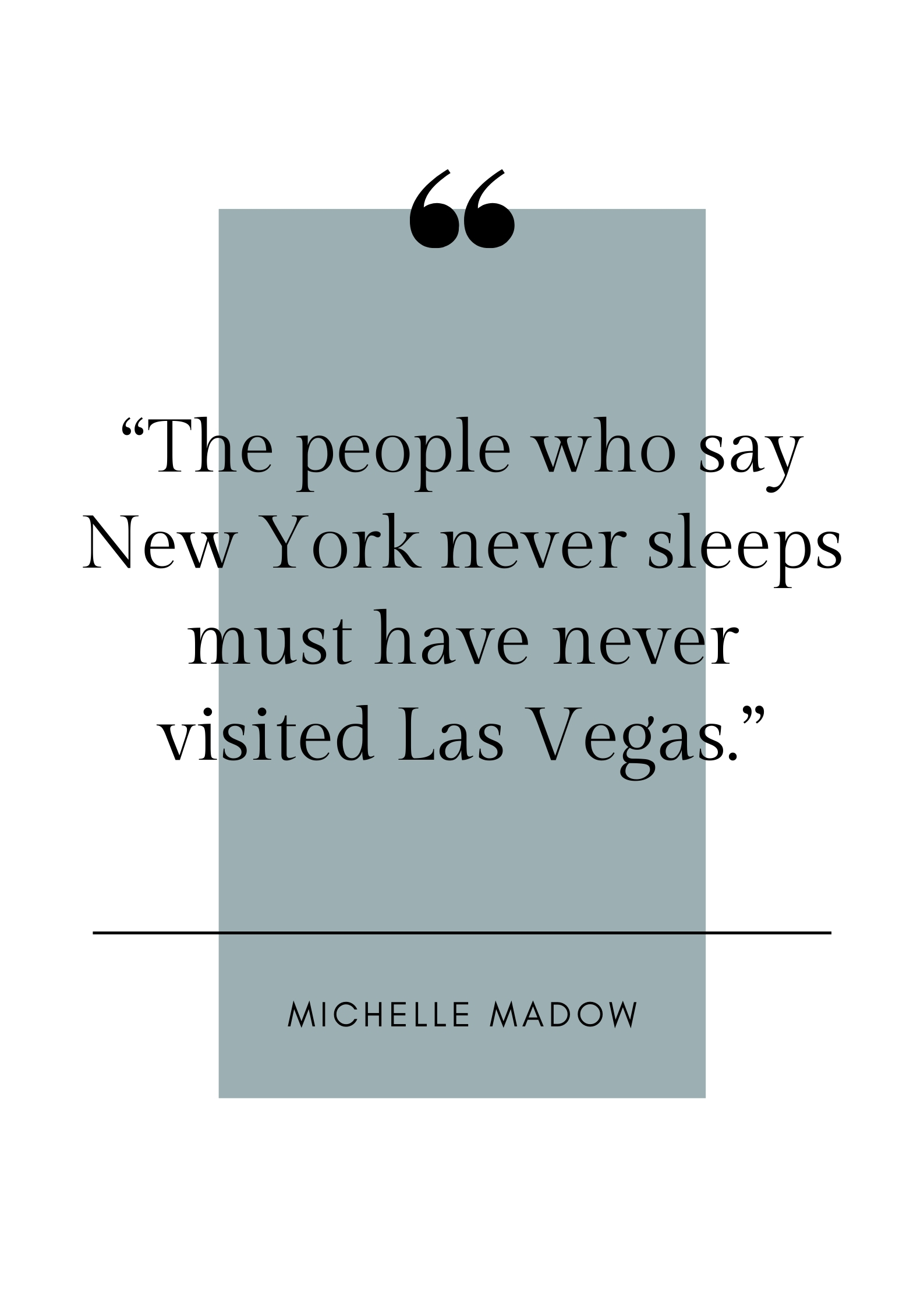 michelle madow quote