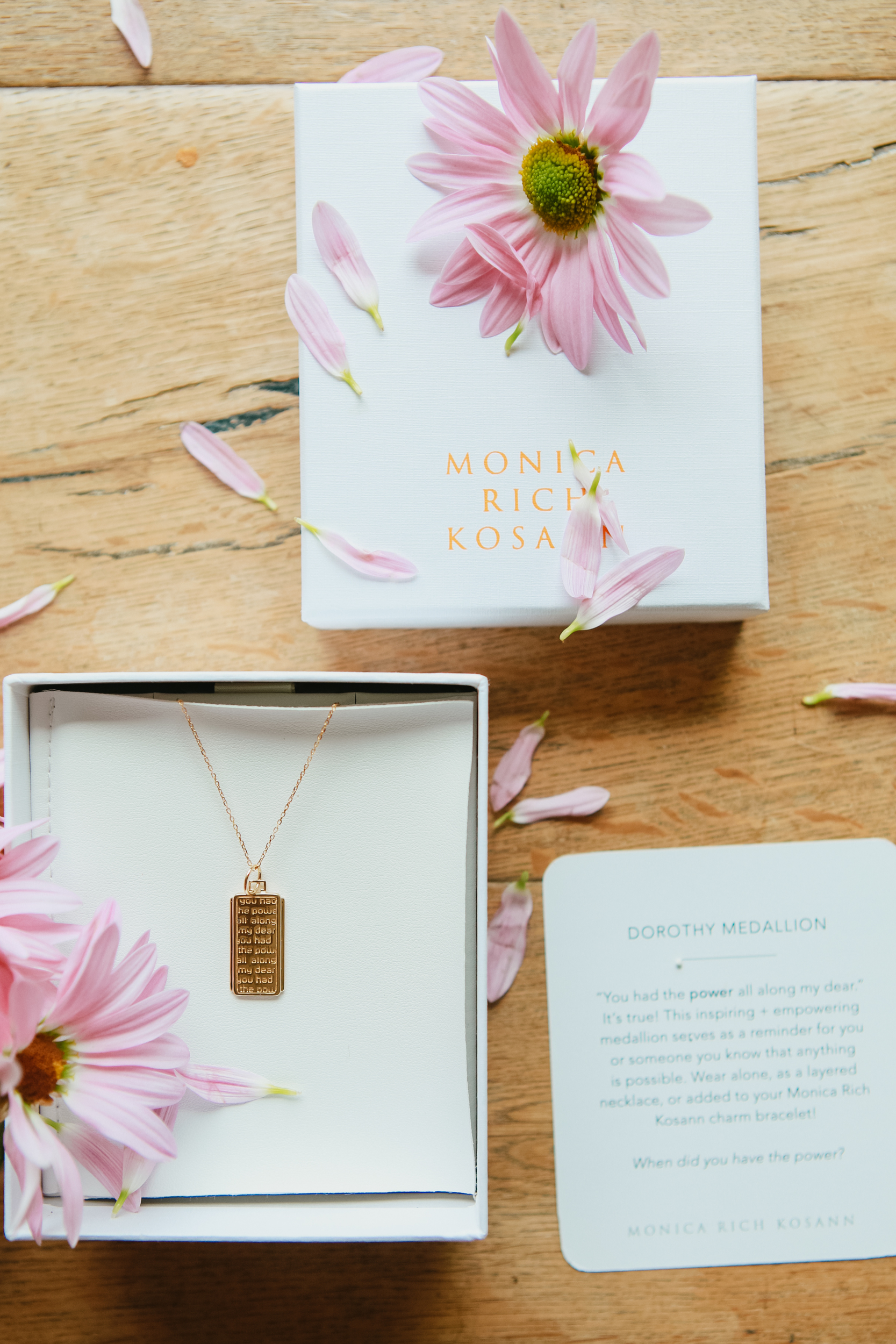 necklace in giftbox