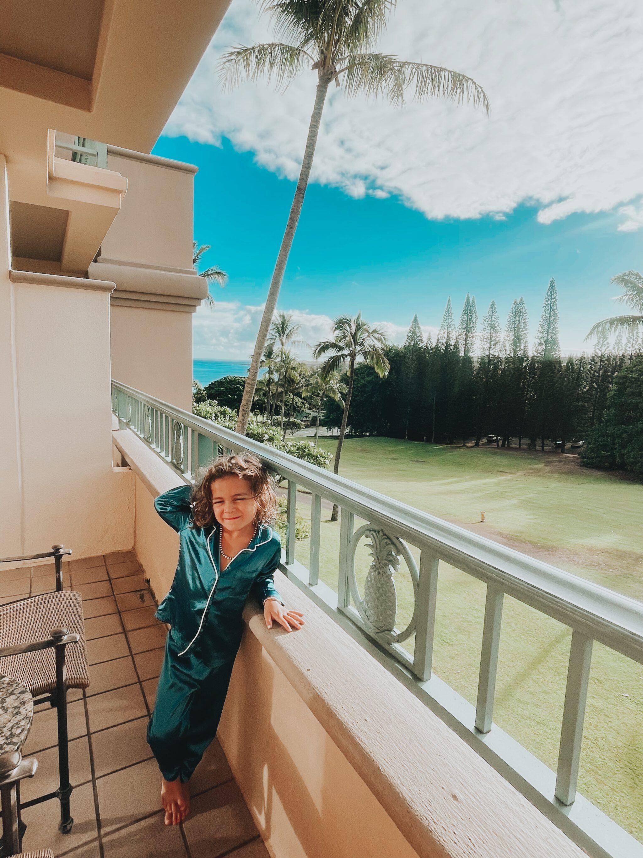 boy on balcony