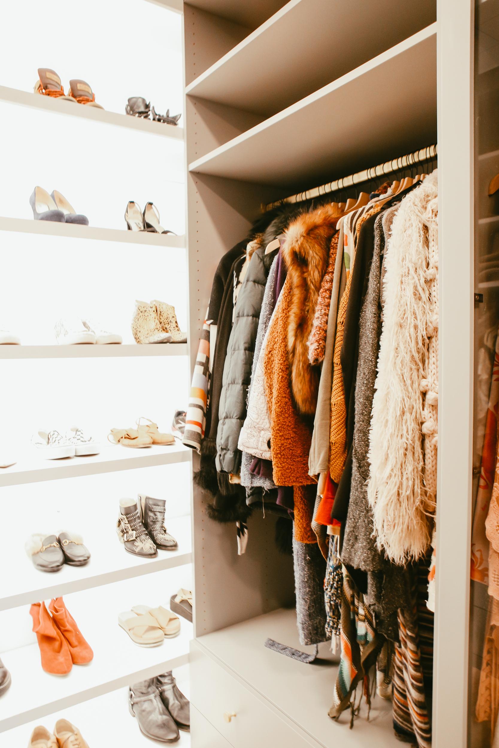 high fashion closet