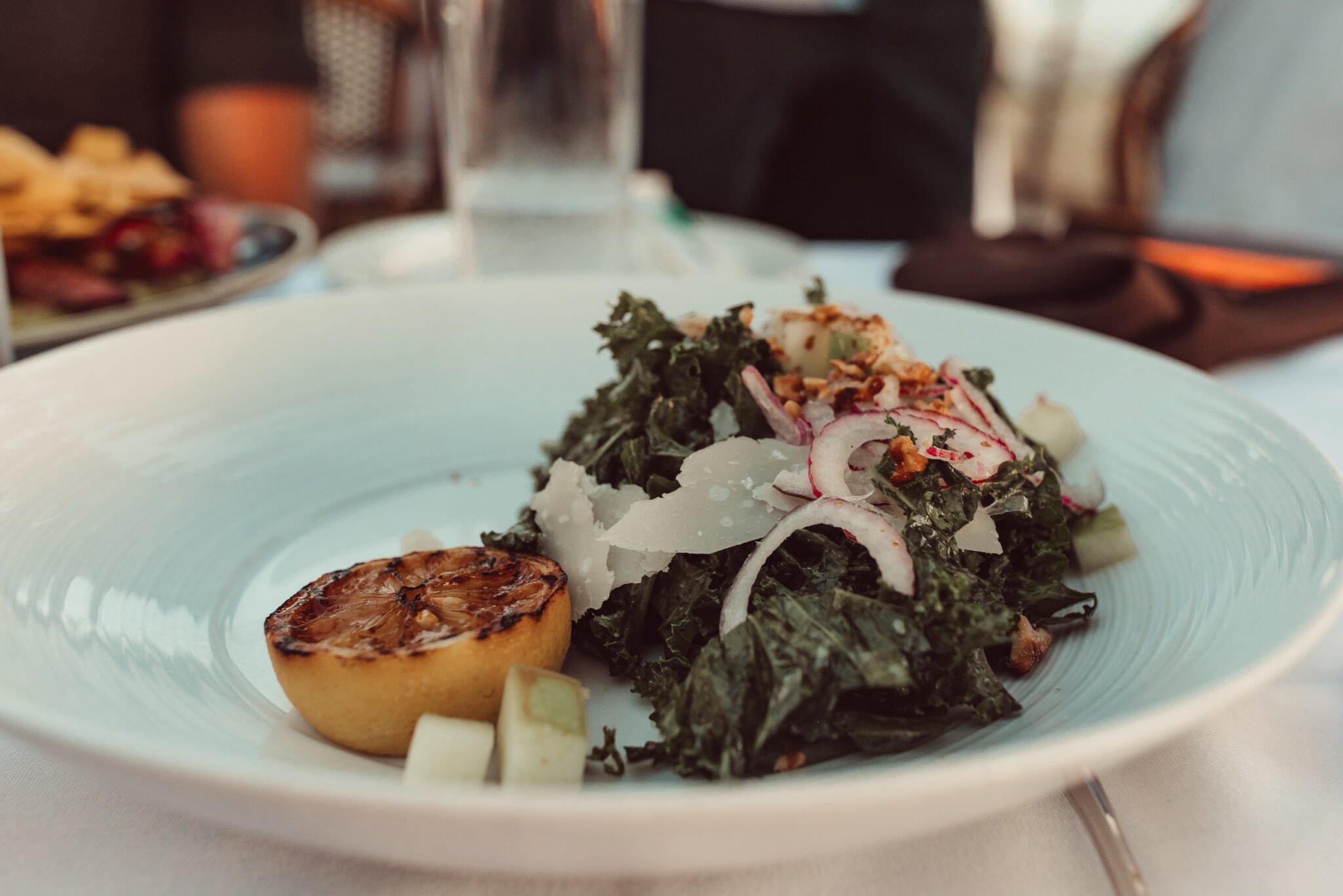 restaurant salad