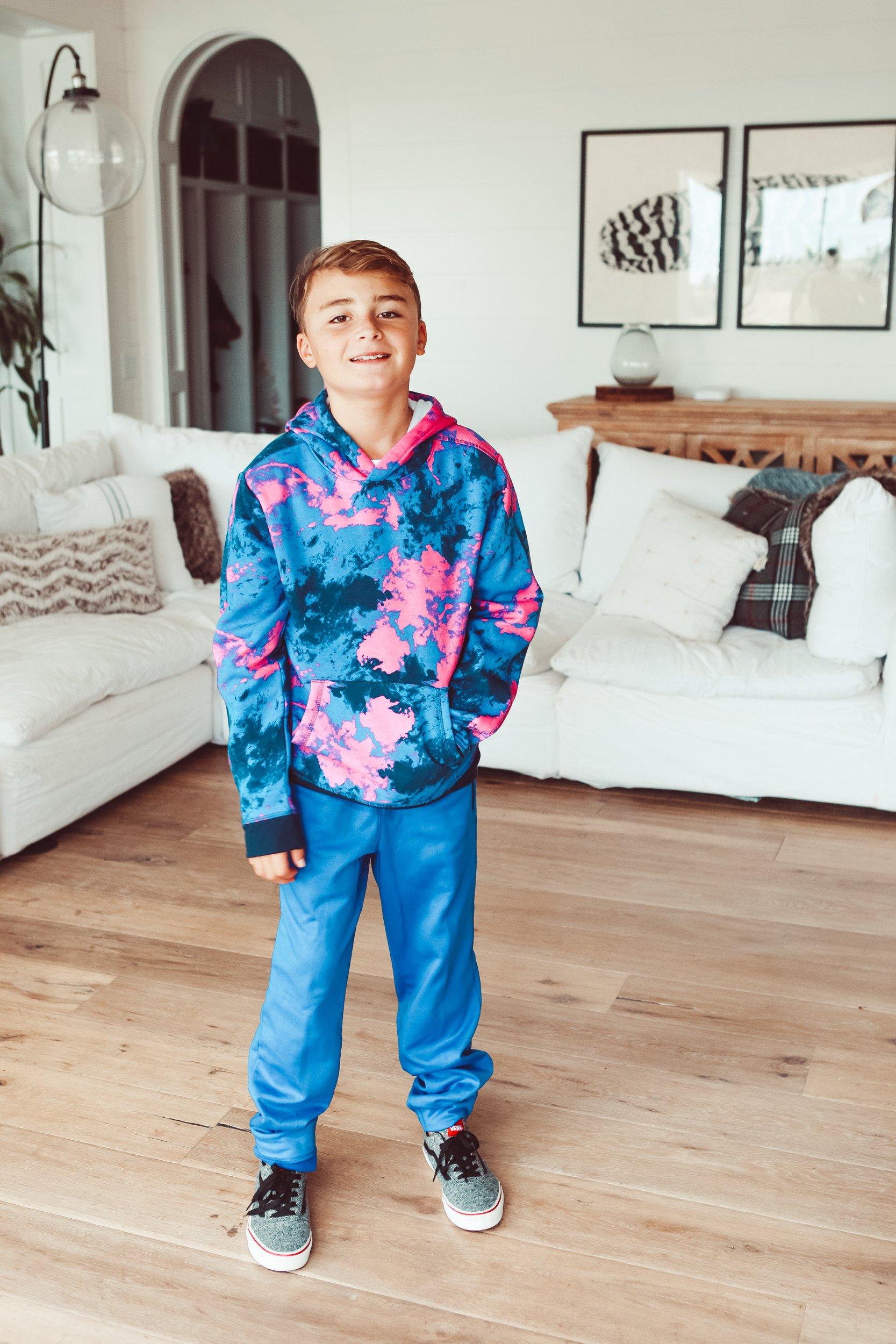 boy in living room
