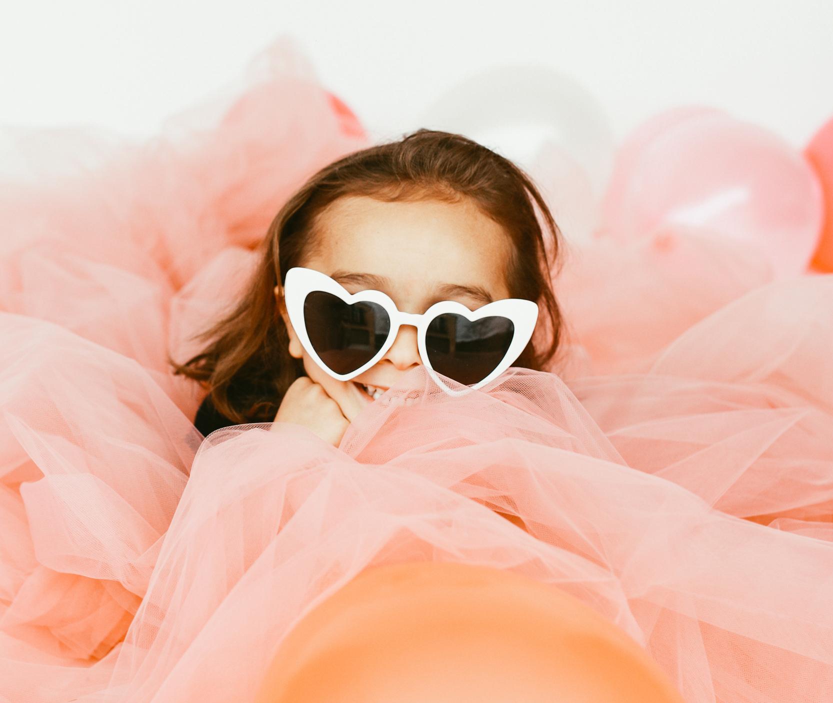 kid in heart sunglasses